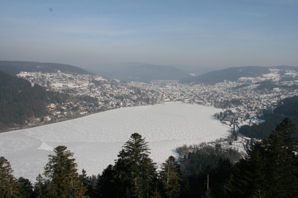 Vacances Gérardmer en hiver