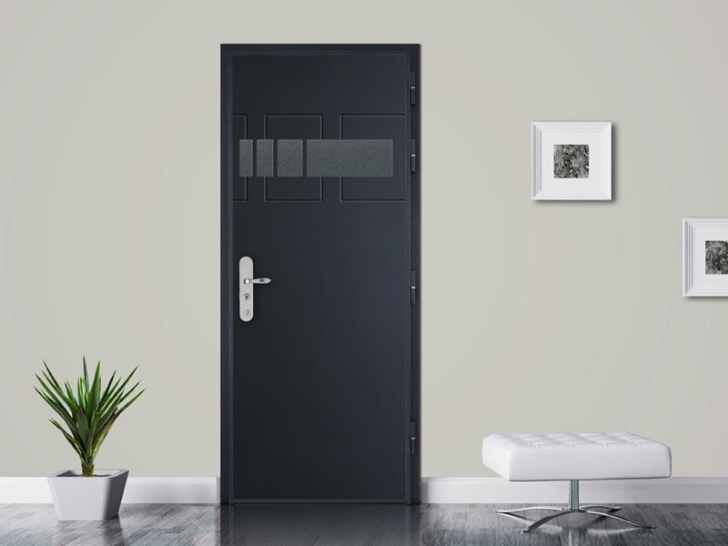 guide pratique pour bien poser une porte d entr e paris. Black Bedroom Furniture Sets. Home Design Ideas
