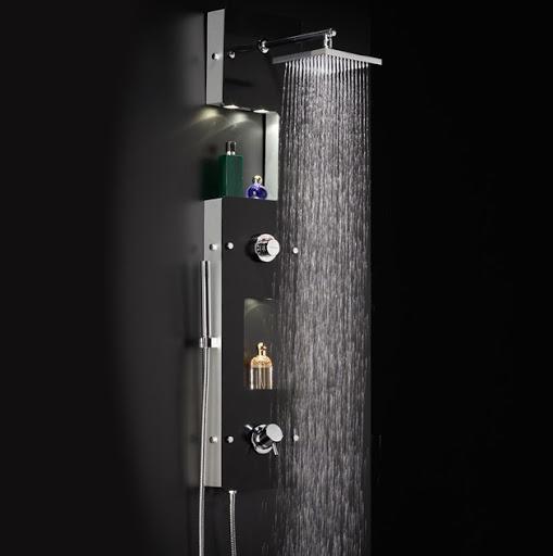 Hauteur colonne de douche